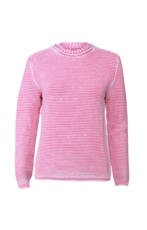 Enkel og elegant pullover i rosa. Piece of Blue