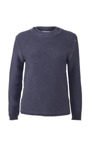 Enkel og elegant pullover i grå. Piece of Blue.