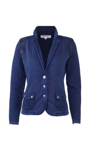 Elegant og velklædt jakke i mørkeblå. Piece of Blue