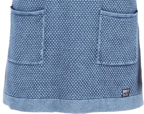 Lang Pullover i Lys Indigo Blå. Piece of Blue